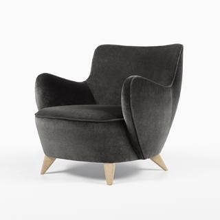 vladimir kagan - chairs & chaise longue