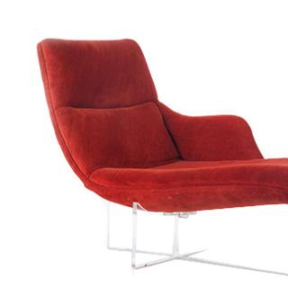Vladimir kagan chairs chaise longue for Chaise longue pliante multiposition
