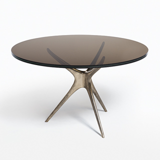 Sculpted Dining Table