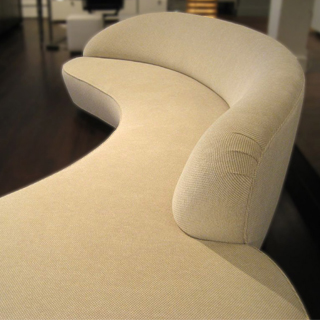 Serpentine Sofa with arm