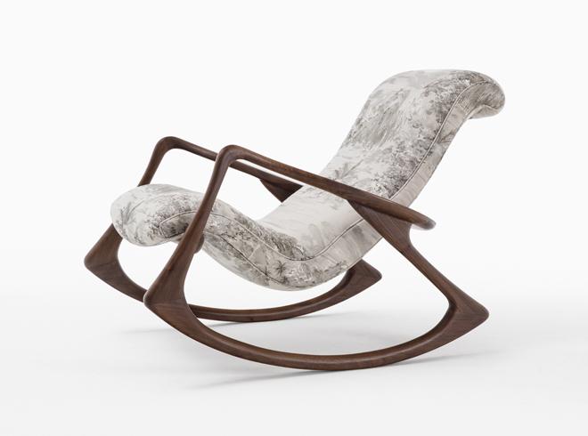 Contour Rocking Chair. Vladimir Kagan