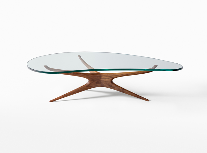 Marvelous Sculptured Coffee Table