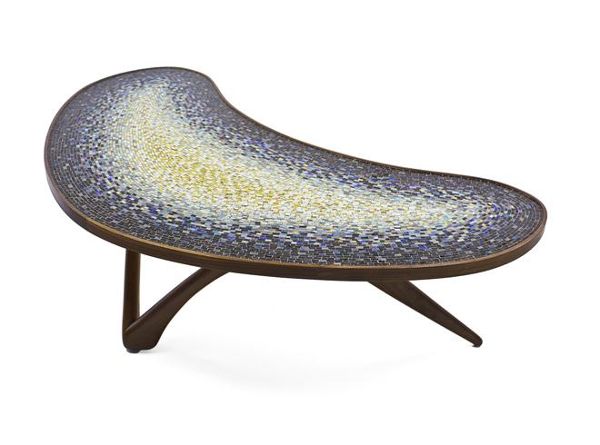 Mosaic Boomerang Table