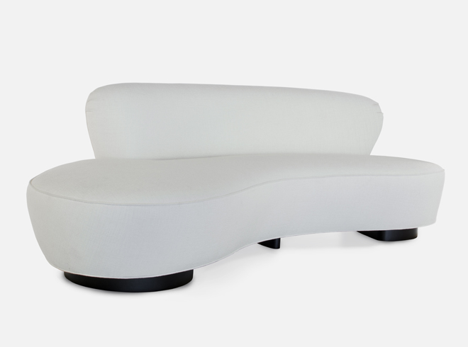 vladimir kagan seating mini sofa. Black Bedroom Furniture Sets. Home Design Ideas