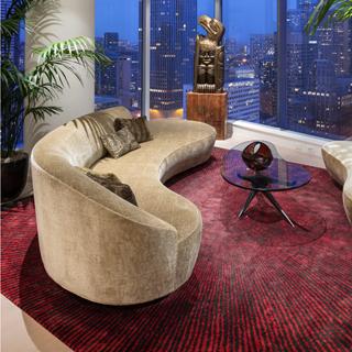 Serpentine Sofa With Arm